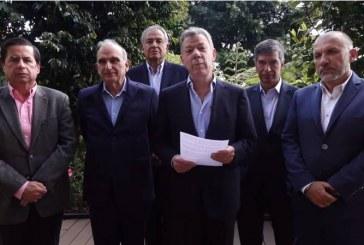 Expresidente Santos aconseja a Duque acelerar implementación de acuerdo de paz