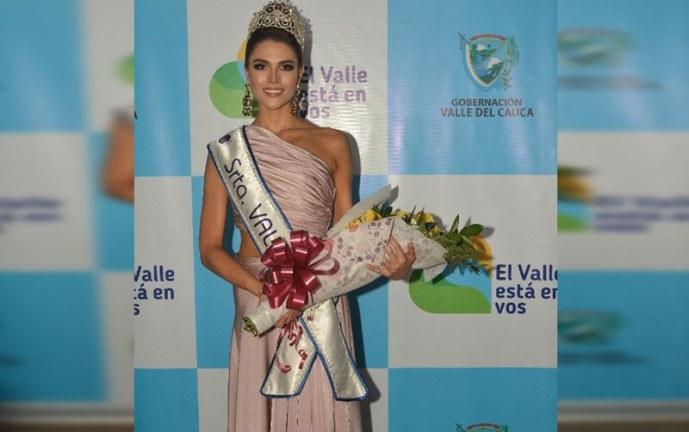 Valle ya tiene representante al Reinado Nacional de la Belleza, es Valentina Cardona