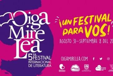 Festival Internacional de Literatura 'Oiga Mire Lea' inicia este viernes en Valle
