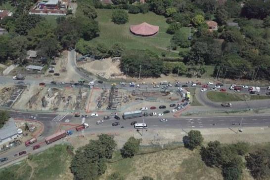 Obras de ampliación de la vía Cali-Jamundí avanzan en un 80%, estarían listas en el mes de junio