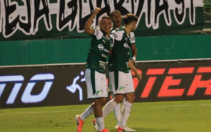 Triunfo sobre la hora del Deportivo Cali en cuartos de Copa ante Junior de Barranquilla