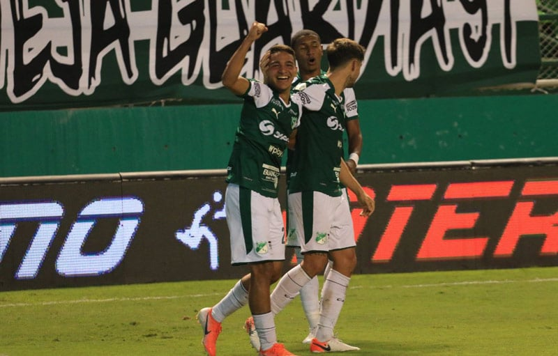 Ad portas de clasificar, Deportivo Cali goleó 4-1 a Rionegro Águilas