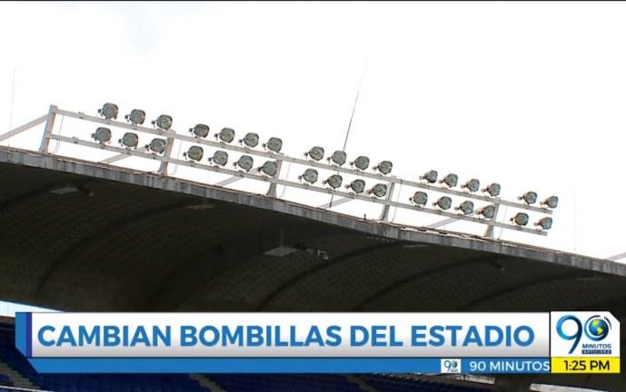A finales de octubre se cambiarían las luminarias del Estadio Pascual Guerrero