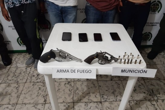 Capturan a cuatro personas en flagrancia,  pretendían burlar a las autoridades policiales