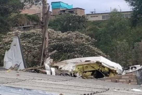 Avioneta cayó sobre una casa cerca al aeropuerto de Popayán