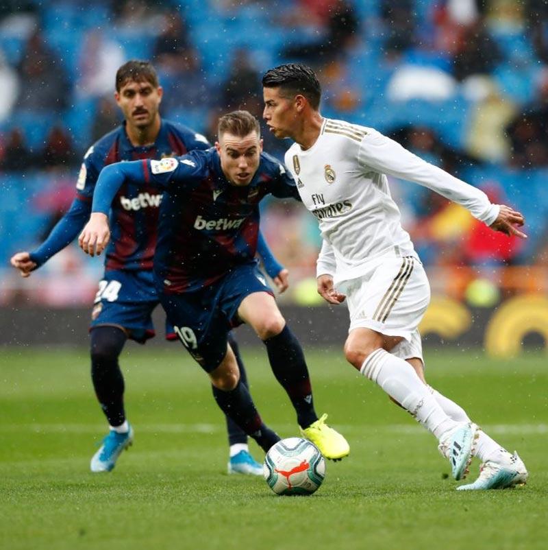 ¿Buenos tiempos para James Rodríguez? Zinedine Zidane elogió al '10' colombiano