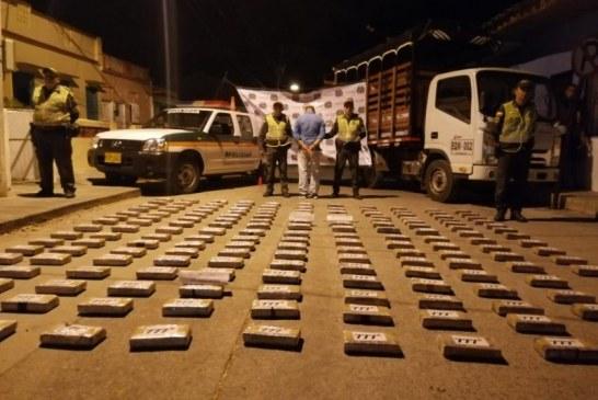 Capturan a persona de la tercera edad por transportar 'caleta' de cocaína en el norte del Valle