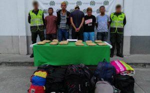 Venezolanos transportando droga, nueva modalidad de bandas de narcotráfico en Valle