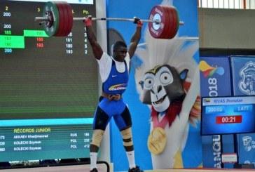 Medalla de bronce para Colombia en el Mundial de Pesas de Tailandia