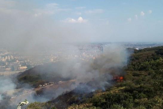 Continúa alerta por incendios forestales en diferentes sectores de la ciudad