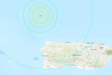 Descartan peligro de tsunami tras sismo de magnitud superior a 6,0 cerca de Puerto Rico