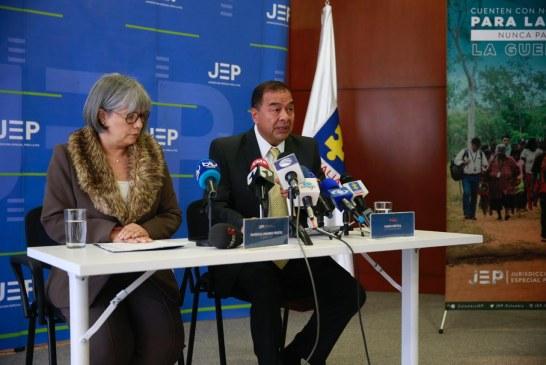JEP recibió 733 solicitudes de terceros que quieren acogerse al Tribunal