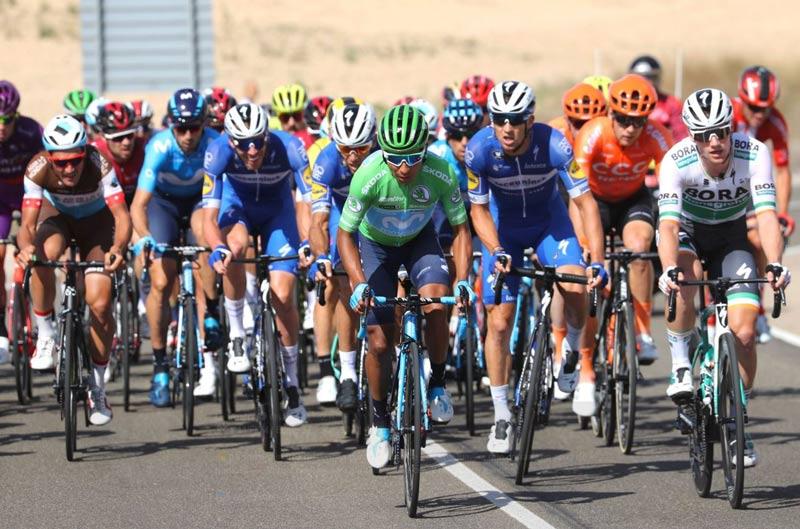 ¡Fantástico! Nairo Quintana ascendió al segundo lugar de la tabla tras una magnifica etapa
