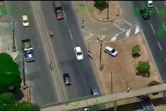 Halcón de la Policía ha sido vital en los últimos días para evitar casos de robo en Cali