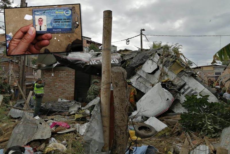 Identifican a las 7 víctimas que dejó accidente de avioneta en Popayán, Cauca