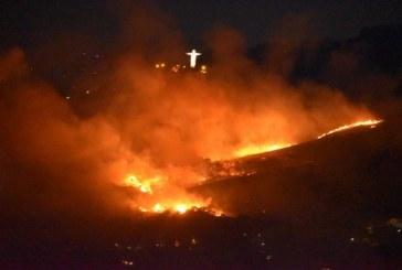 Estas son las impactantes imágenes que dejaron los incendios forestales del martes en Cali
