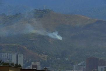 Preocupación por aparición de nuevos focos de humo en zona del cerro de Cristo Rey