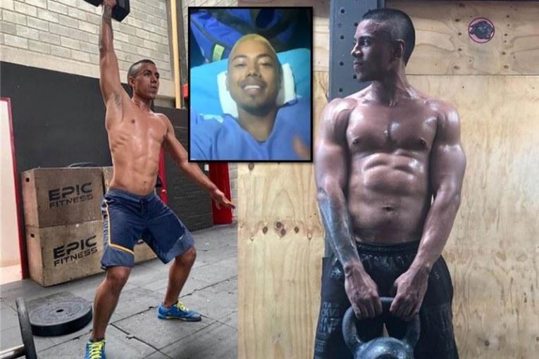 Llegó a Cali Kendo, deportista de crossfit accidentando en un vehículo en Aruba