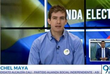Michel Maya habló del Partido Verde y de alianzas con los demás candidatos minoritarios