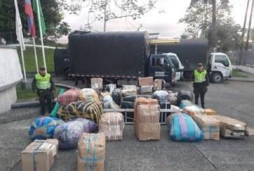 Recuperan camión con 100 millones en mercancía que había sido hurtado en Buenaventura