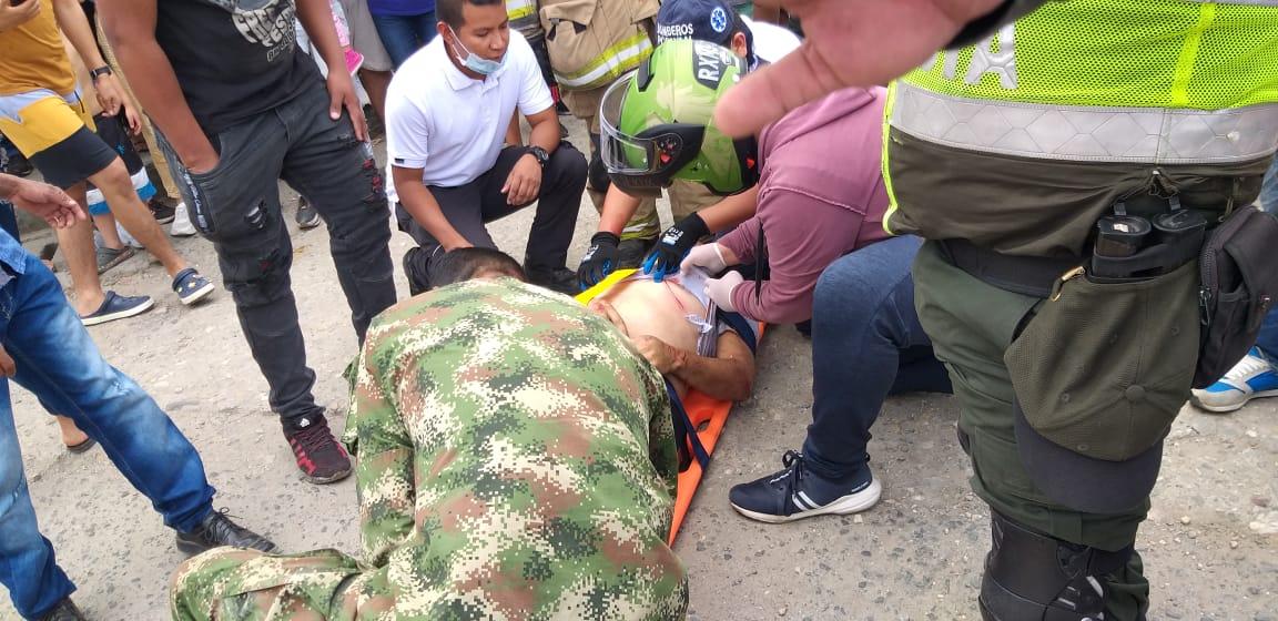Soldado del Ejército rescató a sobrevivientes de tragedia aérea en Popayán