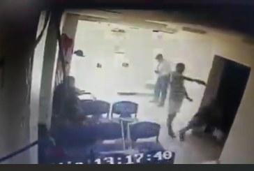 Revelan estremecedor video de ataque sicarial a un hombre en clínica de Cali