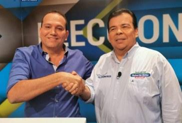 Durante #DebateFinalCali, Francined Cano renunció a su aspiración y se unió a Ortiz