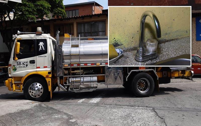 Anuncian nuevo corte de agua, tres importantes barrios de Cali se verán afectados