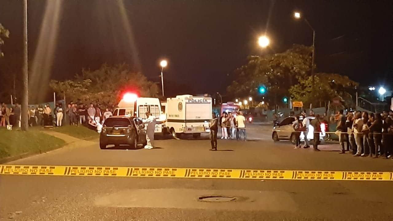 Identifican a los dos hombres asesinados durante atentado sicarial en el sur de Cali