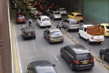 Autoridades restablecen iluminación del túnel de la Avenida Colombia tras sufrir fallas técnicas