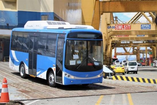 Este viernes llegarán a Cali 21 buses para el Mío que funcionan a gas natural