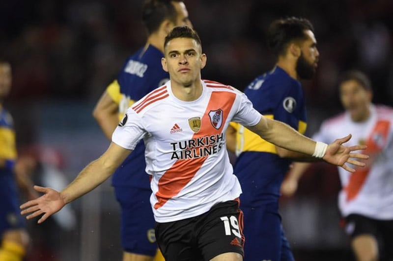 Con gol de Santos Borré, River Plate venció a Boca en el Superclásico