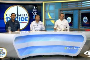 #CaliDecide Reviva el debate completo con los candidatos a la Alcaldía de Cali