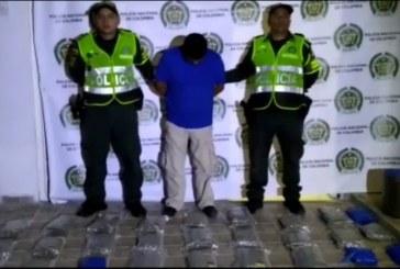 Capturado candidato al concejo de Zarzal, cuando movilizaba 140 kilos de marihuana