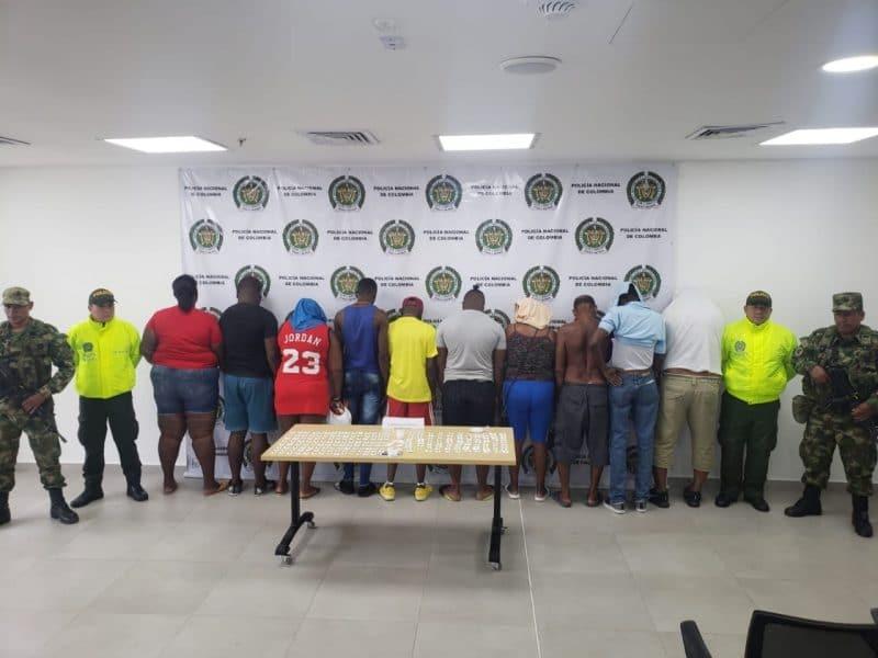 Cárcel a integrantes de banda dedicada al tráfico y distribución de drogas en Buenaventura