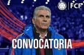 Jugadores de la Selección Colombia convocados para enfrentar a Uruguay y Ecuador