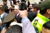 Así llegó el expresidente Uribe a rendir indagatoria ante Corte Suprema de Justicia