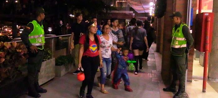 Autoridades de Cali incrementan medidas de seguridad para celebración de Halloween