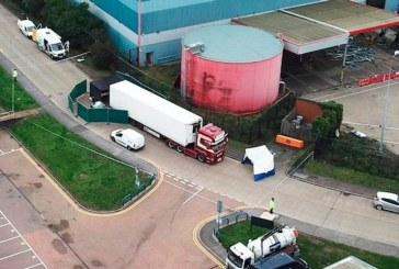 Horror: Policía británica descubre 39 cadáveres en el interior de un camión