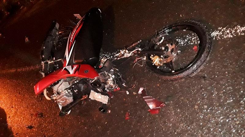 Identifican a joven motociclista que murió este domingo en vía Cali – kilometro 18