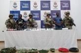 Juez aseguró a dos hombres, presuntos miembros del frente Che Guevara del ELN