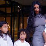Kim Kardashian cumplió el sueño de bautizar a sus hijos
