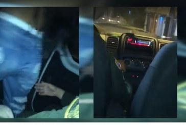 Policías armaron una 'rumba' junto a tres chicas al interior, al parecer, de un vehículo oficial