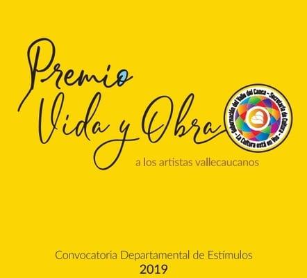 ¡Ya abrieron la Convocatoria Departamental de Estímulos Premio y Obra 2019!