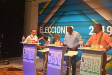 Puntualidad de candidatos, nerviosismo y desgaste en campañas, así fue la previa del debate