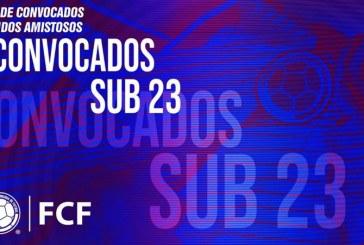 Reyes presentó la convocatoria de la Selección Colombia Sub 23 para amistosos