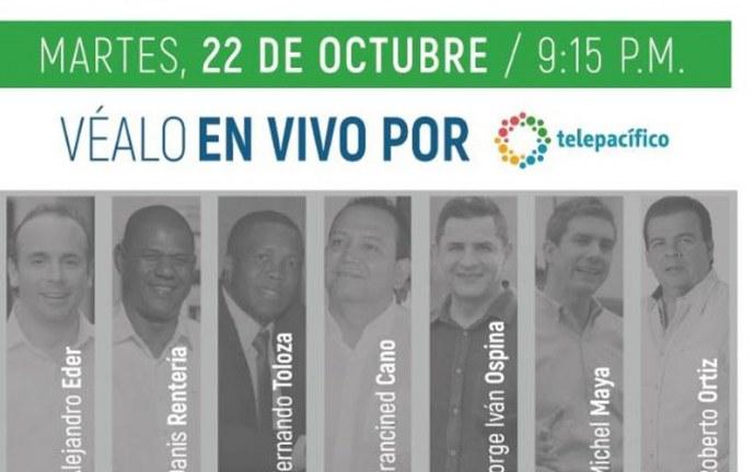 Telepacífico transmitirá debate de los candidatos a la Alcaldía de Cali