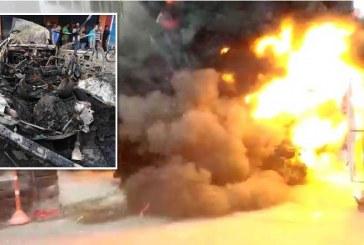 Video: así fue la explosión de camioneta en el centro de Cali que dejó 5 heridos