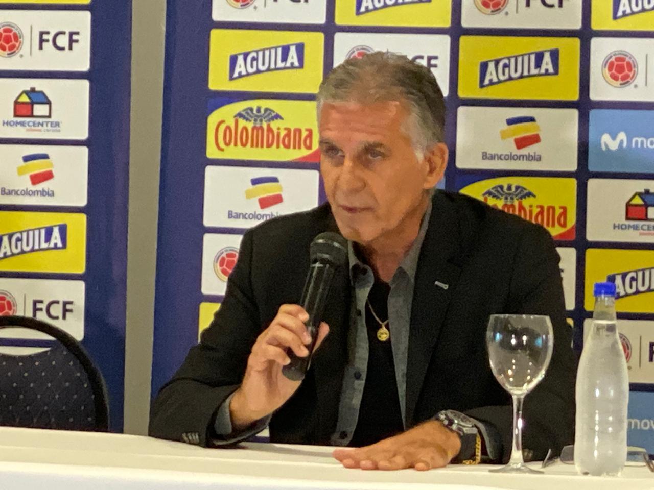 Con el regreso de James, Queiroz presentó los 23 convocatos para amistosos de la Selección