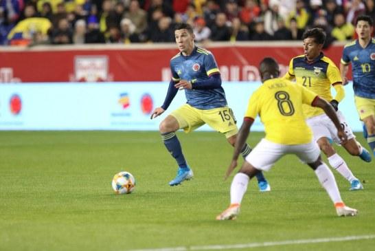 Con una victoria ante Ecuador, Colombia finalizó sus partidos del 2019